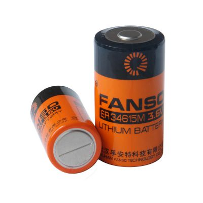 ER34615M,孚安特大功率一次锂电池,D型安全锂亚电池
