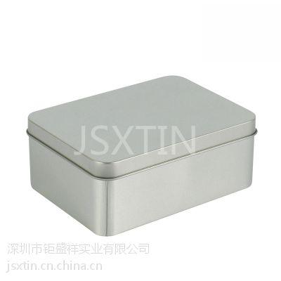 燕窝铁盒 铁盒加工厂 无印刷磨砂马口铁包装盒定制
