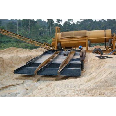 供应淘金设备,二次水洗设备,旱地选铁设备,沙石分离清洗机----青州腾龙
