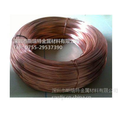 深圳铜线材T2紫铜线,H70黄铜扁线