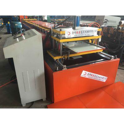 地鑫广告扣板技术设备 彩钢扣板生产设备 500大方板压瓦机