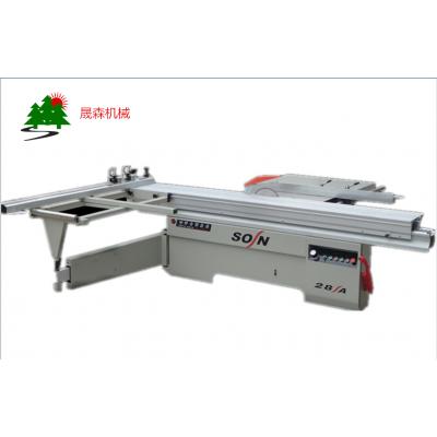 精密裁板锯,电动升降裁板锯 MJ6128-A 青岛晟森木工机械公司