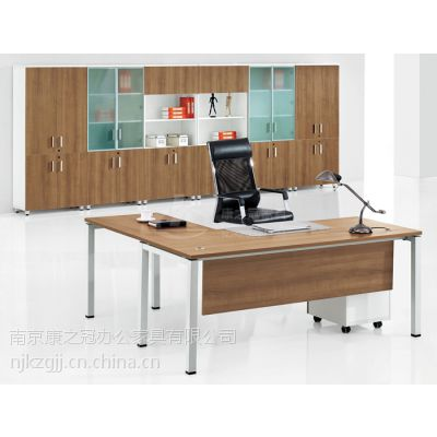 供应南京康之冠办公家具板式经理桌,板式大班台