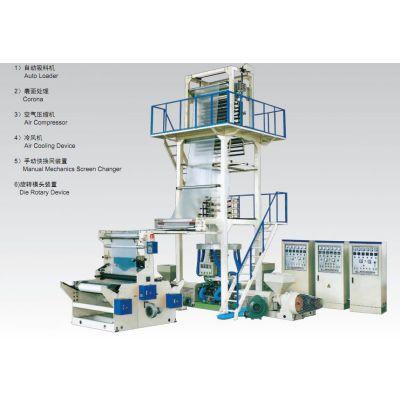 供应隔离膜吹膜机,三层共挤吹膜机,上牵引旋转吹膜机--东光恒利专业生产