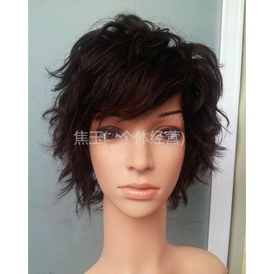 供应一美假发 韩版假发 永久纹理烫造型 假发代理