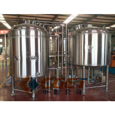 高校啤酒试验设备100L糖化两器