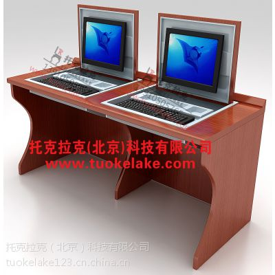 托克拉克TKLK-07学校机房电脑桌部队学校教室专用