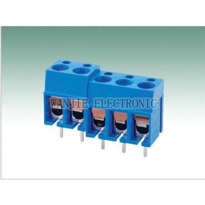 供应弹片式PCB接线端端子300-5.0   螺钉式接线端子300-5.0