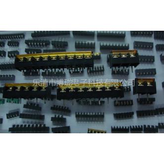 供应双电源开关接线端子  栅栏式PCB接线端子   HB950带盖子
