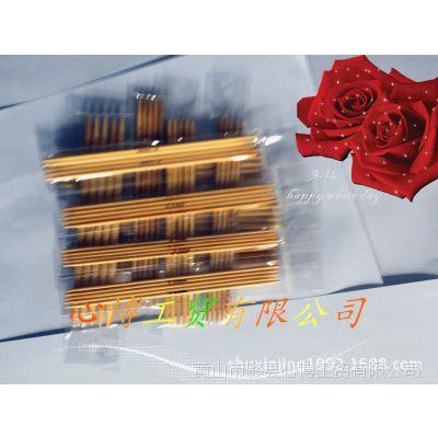 供应辉忠牌竹针 毛衣针 双尖竹针 漂白2.0-5.0mm  5根装 11个型号