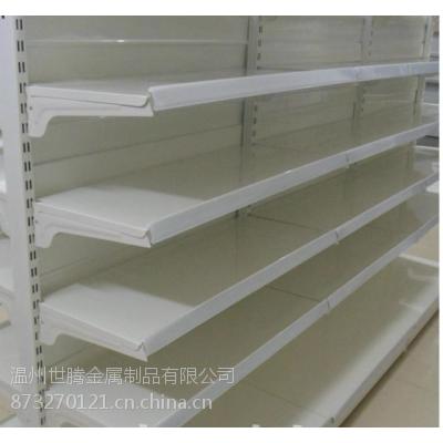 供应世腾单面超市货架 药店货架 商超货架 双面 单面超市货架