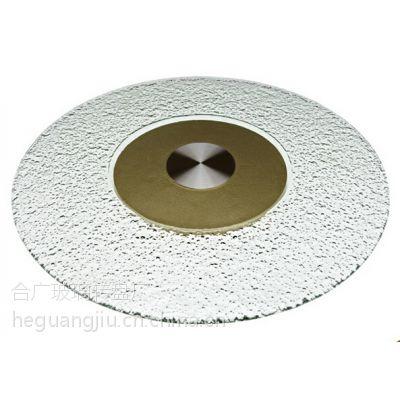 供应热熔玻璃转盘、餐桌玻璃转盘