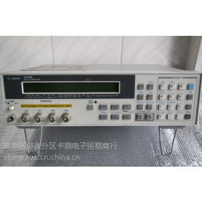 杭州4338B租赁 南京4338B维修 低电阻毫欧表