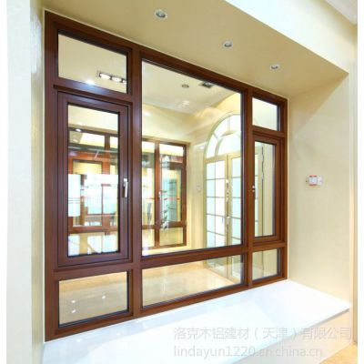 供应木铝型材批发销售/铝木型材生产加工/木铝门窗厂家【洛克木铝】