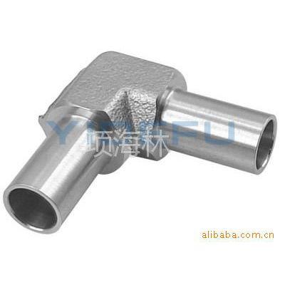 供应YDF-LOK  不锈钢焊接式直角管接头、卡套式弯通管接头