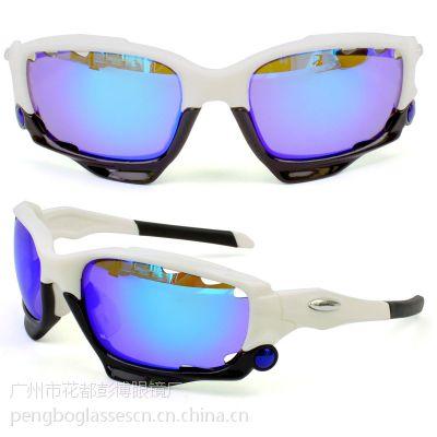 供应运动自行车骑行眼镜 赛车眼镜 摩托车镜BP-6208白色T-REX