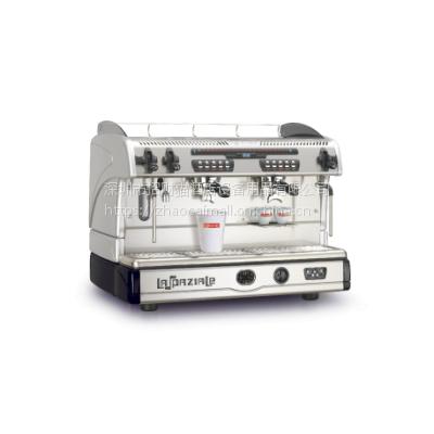 代理原装进口意大利LASPAZIALE意式咖啡机 S5双头电控高杯香浓咖啡机