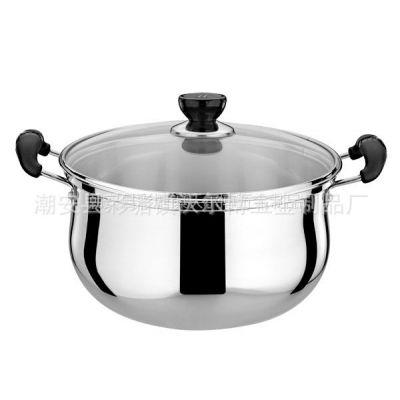 精品供应沃尔博不锈钢高级弧形汤锅 节能锅 价格实惠 品质上乘