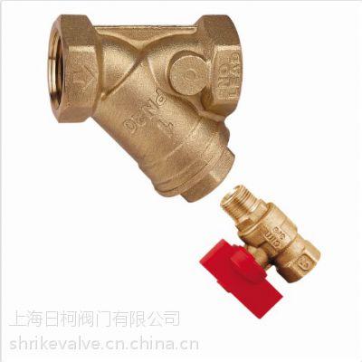 意大利CIM74CRNL-2铜Y型过滤器带排污球阀_CIM74CRNL铜Y型过滤器