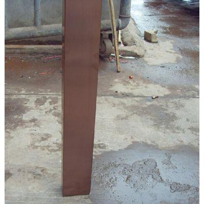 广东不锈钢方管 真空电镀304不锈钢管(拉丝玫瑰金)