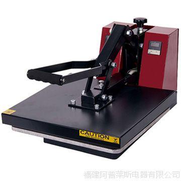 厂家年初活动促销 平面手动印花设备HP3802 38*38cm珠光板热压机