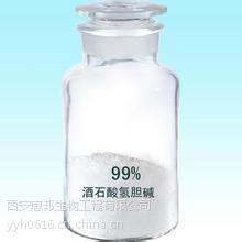 供应食品级【酒石酸氢胆碱】 食品添加剂 营养增补剂 含量99