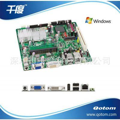供应Intel Atom D945GSEJT ITX 主板,支持DVI N270 CPU,工控主板,