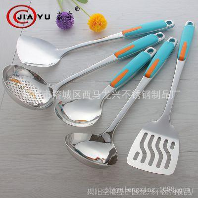 不锈钢厨具五件套 烹饪工具厨房用品 不锈钢礼品套装