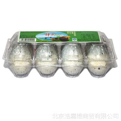 神丹松花鸭皮蛋496g盒清淡健康鲜滑爽口鸭蛋咸鸭蛋松花蛋端午必备
