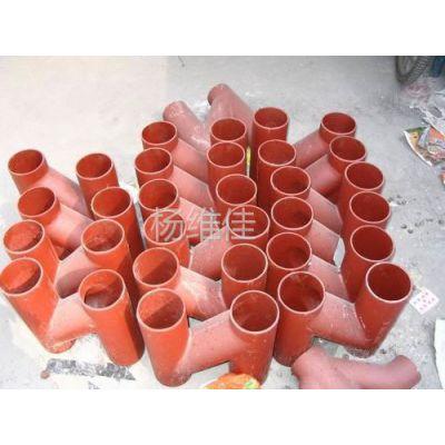 供应W型铸铁管材及管件
