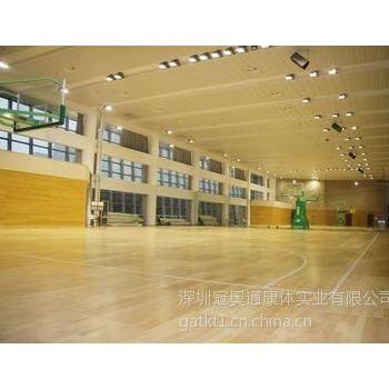 篮球馆体育木地板系统施工工艺分析
