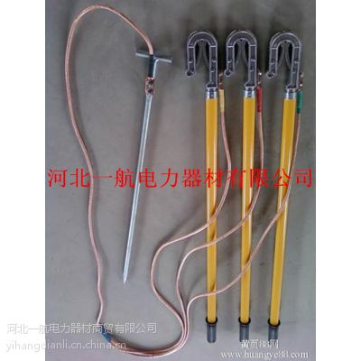 一航批量直销10kv优质裸铜线高压便携式电工专用短路接地棒
