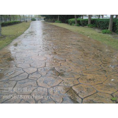 淄博市混凝土压模地坪、混凝土压模地坪价格