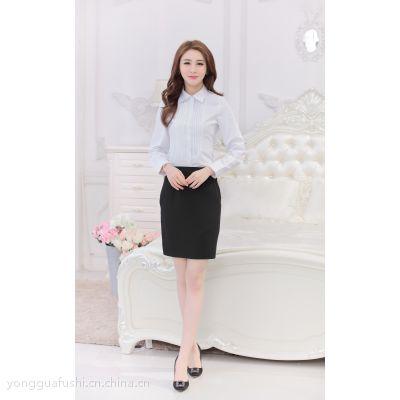 永冠专业订制职业衬衫 白领衬衫 厂家直销一件代发
