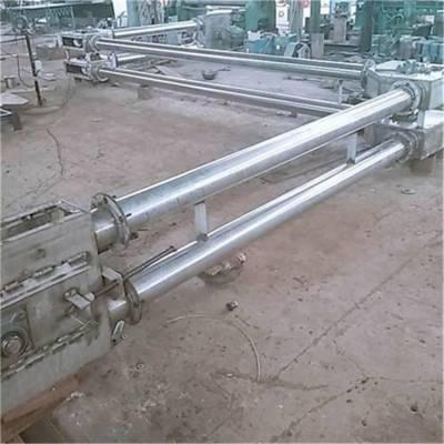 管链尼龙片输送机 运输无扬尘作业 通用性水平垂直输送