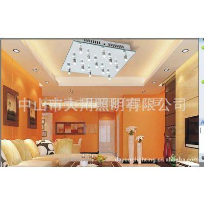 供应2011款LED玻璃镜面室内灯具13头简洁大方