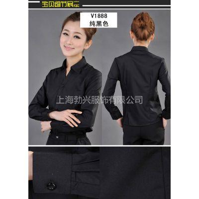 供应定制职场中的职业女衬衫 长袖衬衫 短袖衬衫
