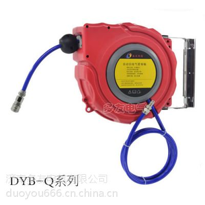 益友恒信 自动伸缩卷管器 高强度PU包纱管气动工具 8*12 10-20米气鼓 汽车美容
