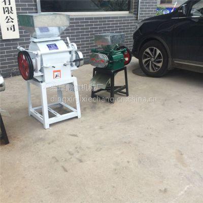 食品厂专用多功能花生米破碎机 立式对辊小型破碎机 鼎信机械设备批发