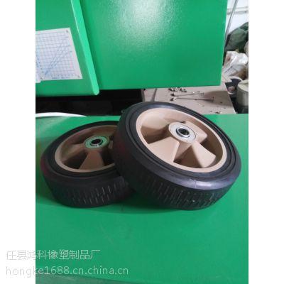 邢台优质磨光机脚轮,100型抹光机行走轮批发,抹光机行走轮厂家