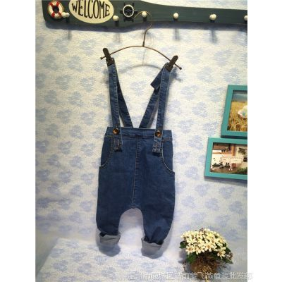 童装企划 童装批发 春款女童碎花衬衫搭配牛仔裤A8790A