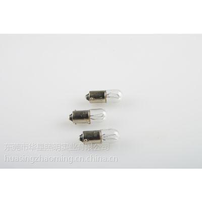 厂家供应12V指示泡 T10-BA9S指示泡 钨丝小灯泡 量大优惠