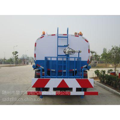 东风10吨拉水车价格、10吨饮用水运输车价格