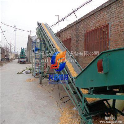 化肥厂用来装车的皮带输送机,移动式圆管运输机,电动升降可调高度皮带机