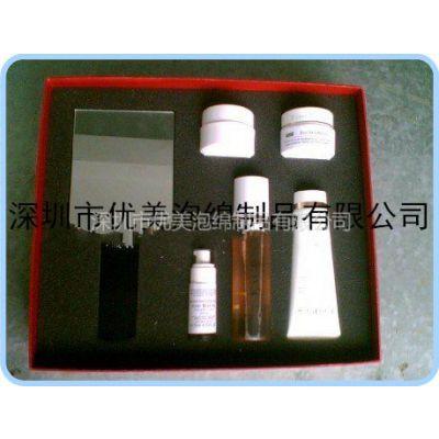 供应海绵加工成型包装盒内胆 纸盒内包装 海绵防损包材