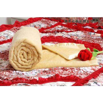 加工拉绒毛毯 竹纤维毯 真丝毛毯 棉毯