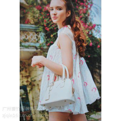 特价清库存 品牌折扣女装走份 杭州蜜西娅14年夏装