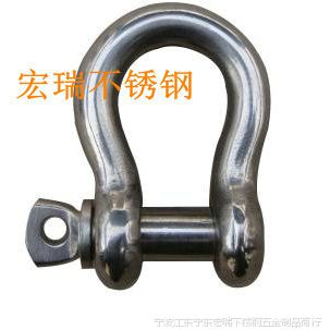 不锈钢304弓形卸扣6mm钢丝绳