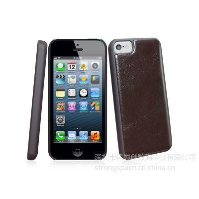 供应 iphone5c 碳纤维贴皮 保护套 工厂报价 深圳平湖