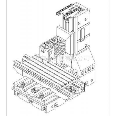 供应促销台正立式加工中心光机TOM-1890B 工作台面尺寸 900*2000